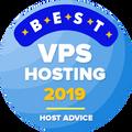 Myönnetty yrityksille, jotka ovat 10 parhaan joukossa vps hosting -luokassa.