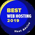 Myönnetty yrityksille, jotka ovat 10 parhaan joukossa web hosting -luokassa.