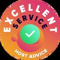 Testasimme aivan jokaisen yrityksen asiakaspalvelun henkilökohtaisesti ja anonyymisti.  Merkki erinomaisuudesta on myönnetty niille hosting-yrityksille, jotka ovat täyttäneet HostAdvicen korkeat asiakaspalvelua koskevat vaatimukset, jolloin niiden tarjoama palvelu on nopeaa, tehokasta, oivaltavaa ja ennen kaikkea hyödyllistä.