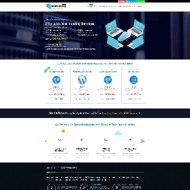 Scopehosts HomePage Screenshot